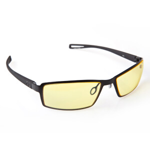 GUNNAR Wi-Five Nose Black Frame Amber Lens Radiation Anti Blue Light Eyewear