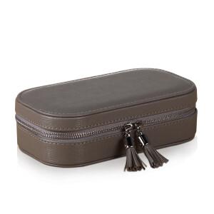 leather jewelry box jewelry box European small jewelry box storage box large portable small object storage box creative birthd