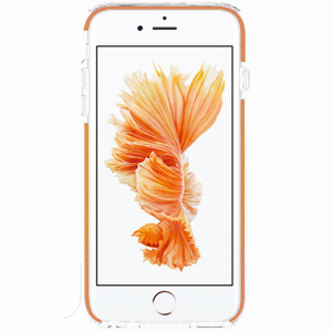 ESCASE mobile phone shell anti-drop three-dimensional full protection Apple phone protective cover for Apple iPhone 6S Plus vitality orange