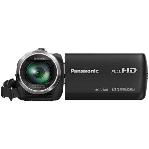 Panasonic digital camera (Panasonic) Lumix HC-V180GK-K digital camera black (5-axis anti-shake level correction function 28mm wide-angle recording 90 times the smart zoom)