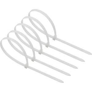 Kraftwell self-locking nylon cable ties with cable ties 3.6*250mm white 100 OT2903G
