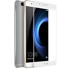 KOOLIFE Huawei glory V8 full-screen coated steel film full-screen glass film full coverage of mobile phone protective film – white