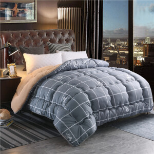 PLAYBOY Playboy winter thickening lamb quilt double winter quilt student child warm by core beard Mr. 200*230cm 7 kg
