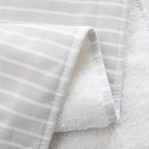 HOYO towel Japan imported oak gift box cotton long-staple cotton cotton gauze high-grade large towel baby child available 1 strip gray 33*72cm