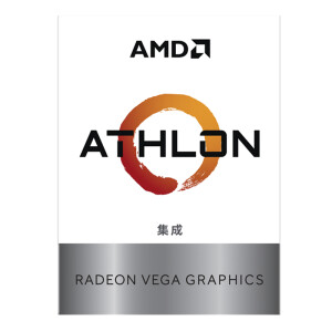 AMD Athlon 200GE processor with Radeon Vega Graphic 2 core 4 thread AM4 interface 3.2GHz boxed CPU