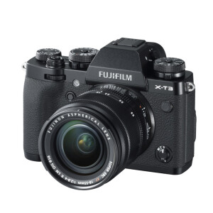 Fuji (FUJIFILM) X-T3 XF18-55 micro single silver body camera 2610 million pixels folding touch screen 4K