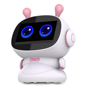 Intelligence Express C20 Gold Xiaoshuaizi children intelligent robot touch learning machine 3-6-12 years old education accompanying early education voice dialogue chubby Android high with version blue 16+32G