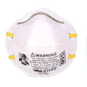 3M 8110s headband small N95 protective masks (20 / box) anti-dust / anti-PM2.5