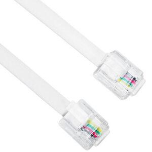 Sanbao (SANBAO) TL-4030L 4-core multi-strand 6P4C pure copper telephone line 30 meters