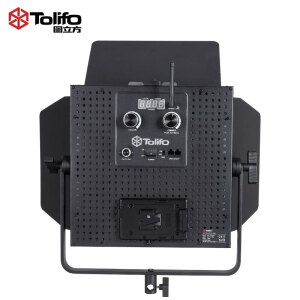 Figure (Tolifo) GK-J-100WAB high power led photography light dual color temperature studio lighting film and television video lights outside shooting lights interview lights live studio studio fill light