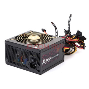 Delta 550W Red Shield Series RS550 Power Supply (80PLUS Bronze / Full Voltage / Top Line Support / Active PFC / Three Years Warranty)