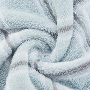 Grace towel home textile 2 pieces Jane love cotton comfortable towel 74*34cm red + blue 110g