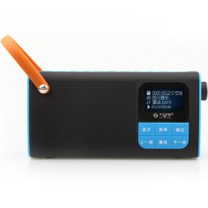 (See me here) LV580 portable card speaker elderly radio wireless Bluetooth speaker black and blue