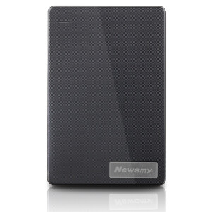 Newman (Newsmy) breeze 320G 2.5-inch mobile hard disk file data storage backup ABS engineering material elegance black
