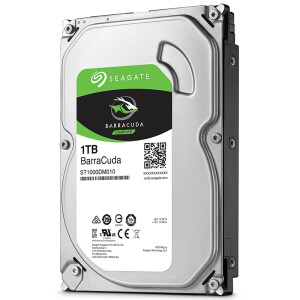 Seagate (SEAGATE) cool fish series 1TB 7200 turn 64M SATA3 desktop mechanical hard drive (ST1000DM010)
