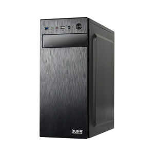 Big buffalo (BUBALUS) Ruibo black desktop computer host tower chassis (support ATX motherboard / multi-drive compatible / long graphics card support / back cable)