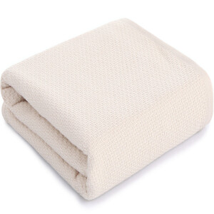 Sanli combed cotton gauze netting towel 72 × 140cm AB version of the tide section of the soft wrap wrapped chest towel beige