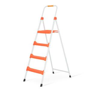 Stable home ladder ladder ladder four-step color iron ladder JSO4-1 light