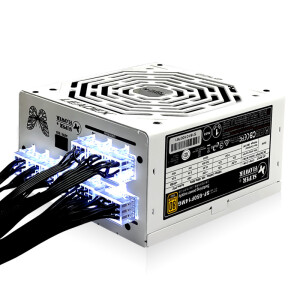 Zhenhua (SUPER FLOWER) rated 650W LEADEX G 650 power supply (80PLUS gold / full module / 5-year warranty)