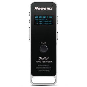 Newman (Newsmy) RV51 8G black professional digital voice recorder PCM lossless recording micro-HD noise reduction MP3 player