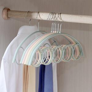 hanger scarf scarves drying rack tie rack blue 10 Pack