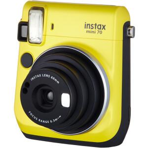 Fuji (FUJIFILM) INSTAX an imaging camera MINI70 camera warm yellow