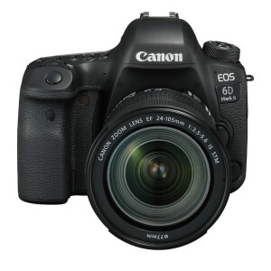 Canon EOS 6D Mark II SLR kit (EF 24-105mm f / 3.5-5.6 IS STM lens)
