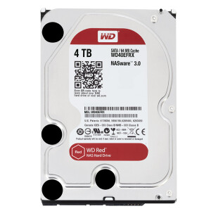 Western Digital (WD) Red Disk 4TB SATA6Gb/s 64M Network Storage (NAS) Hard Disk (WD40EFRX)