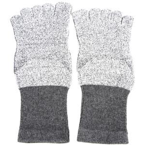 SANTO 2098 HPPE cut-resistant five finger socks