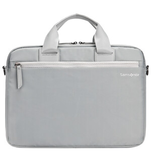 Samsonite backpack Apple MacBook air / Pro computer bag portable liner bag 13.3 inch notebook bag BP5 * 28002 silver gray