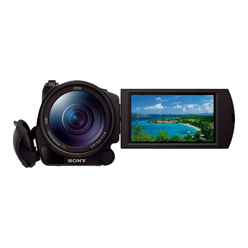Sony FDR-AX100E 4K high-definition digital camera 1 inch CMOS optical image stabilization 12x optical zoom Zeiss lens support WIFI / NFC transmission