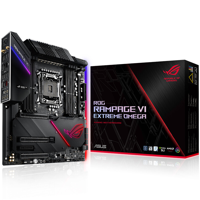 Player Country (ROG) RAMPAGE VI EXTREME OMEGA Motherboard R6E (Intel X299/LGA 2066)