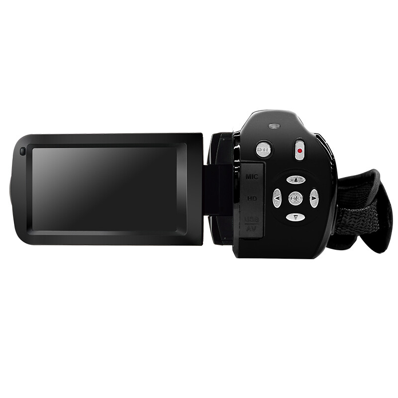 Odda HDV-V7 HD digital video camera flash dv1080p travel home 24 million pixels 16 times zoom