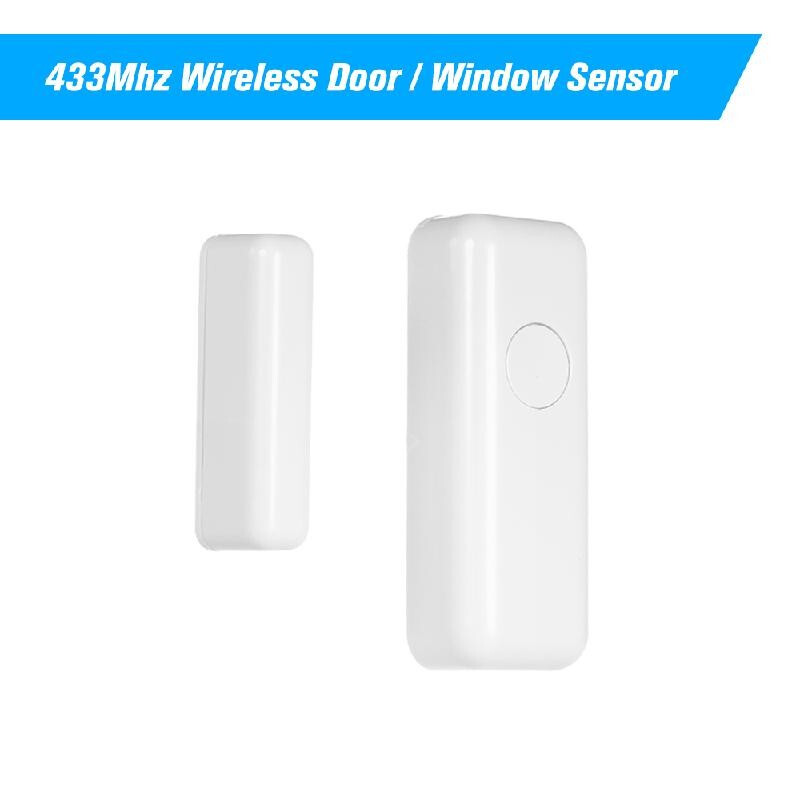 Vibration Anti-Theft Home Security Protection 433 Detector for Home//Shop//Office Wireless Door Window Sensor