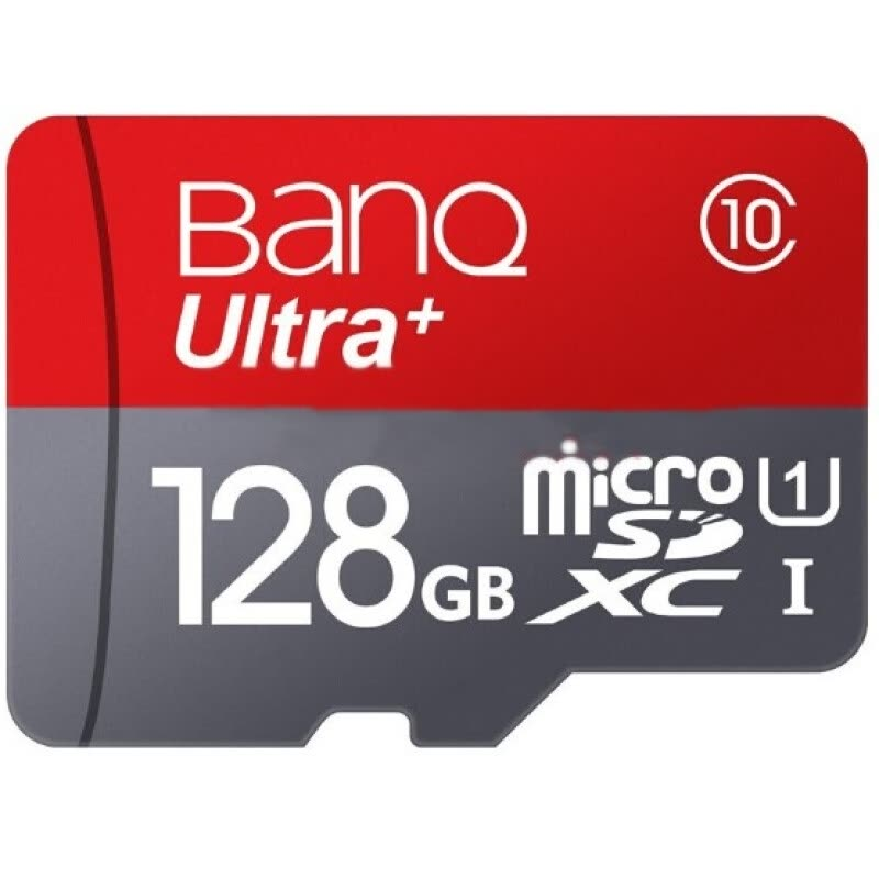 Banq 128GB 100MB/s Class10 high-speed mobile phone memory card MicroSDHC UHS-I driving recorder memory card TF card