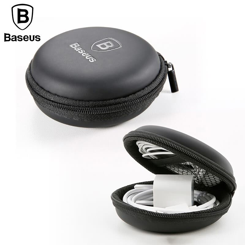 Baseus Mini Earphone Bag Portable Accessories Usb Cale Charge Or Memory Sd Tf Cards