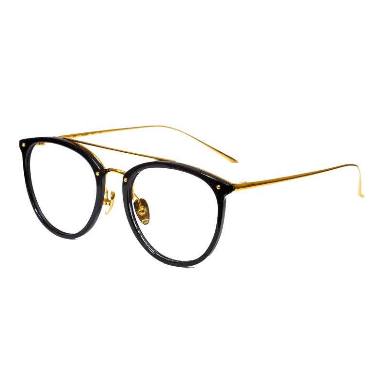 Shop Wood ninety jm1000066C01 trendy fashionable round box glasses ...