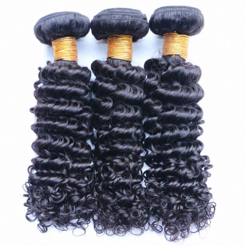 Shop Malaysian Kinky Curly Human Virgin Hair Weave 3 Pieces