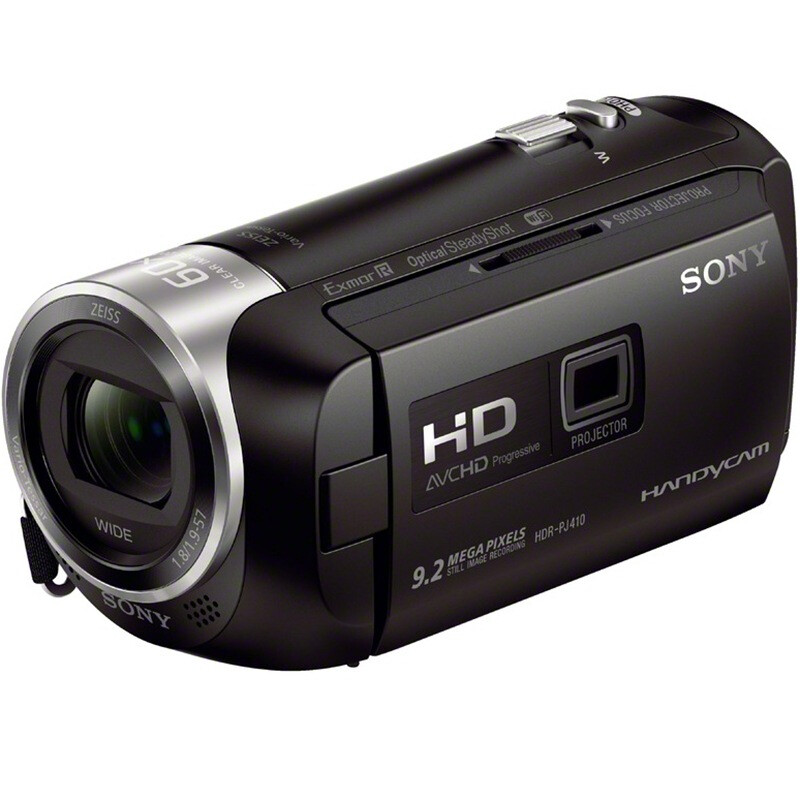 Sony (SONY) HDR-PJ410 high-definition digital camera optical image stabilization 30 times optical zoom Zeiss lens built-in projection WIFI / NFC