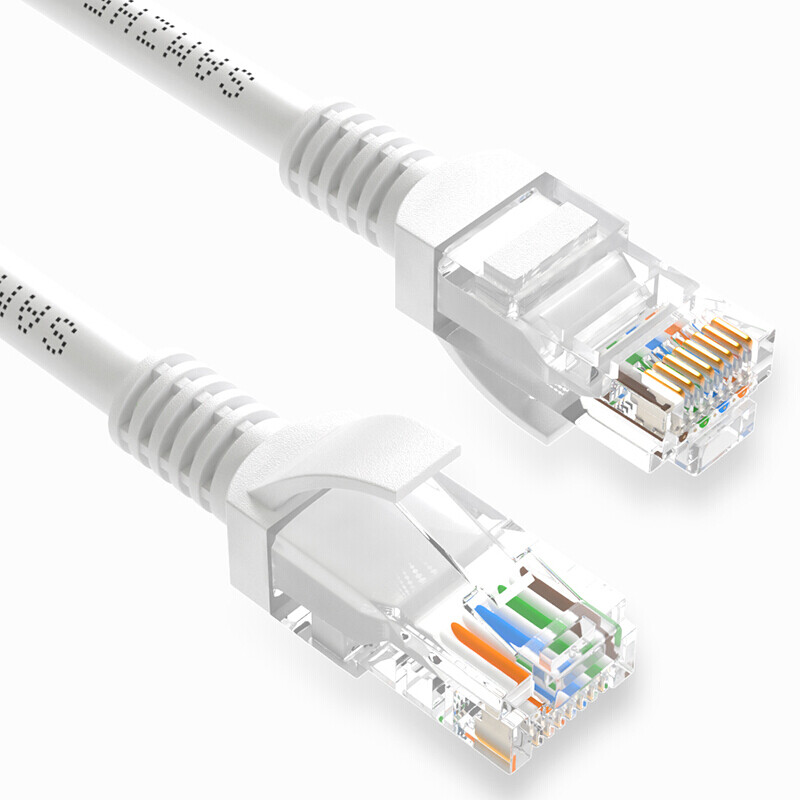 Shanze (SAMZHE) high-speed ultra-five CAT5e class cable network 100 Gigabit network cable computer network jumper over 5 categories of finished cable line Beijie 1 m ZW-01