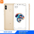 "Глобальная версия Xiaomi Redmi Note 5 4GB 64GB 5.99 ""18: 9 Full Screen Dual Camera Note5 Смартфон Snapdragon 636 Octa Core 4000mAh"