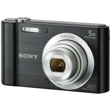 875072536-Sony (SONY) DSC-W800 digital camera black (2010 million pixels 5x optical zoom 2.7 inches 26mm wide angle) on JD