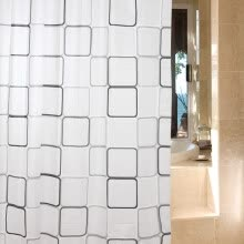 other-bathroom-products-[Jingdong supermarket] green reed waterproof polyester shower curtain Princess complex 180 * 180 on JD