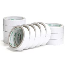 875065887-Deli 30412 EVA 2.5mm*24mm*5y Double-sided Foam Tape (White) (12 Rolls/Bag) on JD