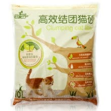 8750208-[Jingdong supermarket] clean (Drymax) low dust and bacteria bentonite group cat litter 10L on JD