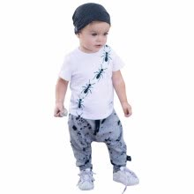 -2018 Hot Sale Baby Boy Clothes Brand Summer Kids Clothes Sets T-shirt+Pants Suit Aut Printed Clothes Newborn Sport Suits on JD
