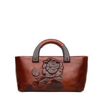 -SUWERER famous brand women Genuine Leather bags for women 2019 new luxury Embossed bags designer bags handbags women famous brands on JD