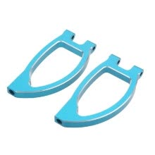 -188018 1/10 Upgrade Parts Blue Aluminum Front Upper Suspension Arm for HSP RC Monster Truck 94188 Off Road Car on JD
