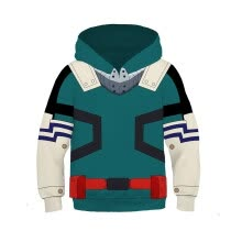 -New Kid Anime Hoodies 3D My Hero Academia Todoroki Shoto Cosplay Sweatshirt Zipper Jacket on JD