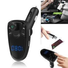 -FM Transmitter FM MP3 Players Modulator Handsfree Dual USB Charger A27 on JD